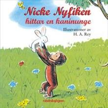 Nicke Nyfiken hittar en kaninunge