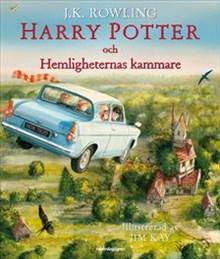 Harry Potter och Hemligheternas kammare - illustrerad av Jim Kay