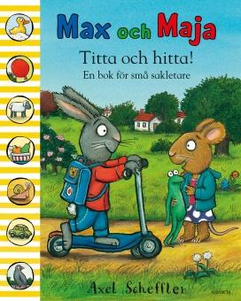 Max och Maja: Titta och hitta! En bok för små sakletare