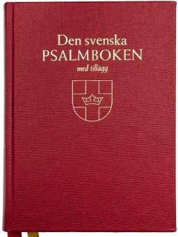 Psalmbok med tillägg, bänk (2018)