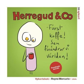 Herregud & Co: Vykortbok, 20 vykort