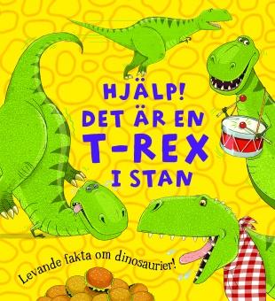 Hjälp! Det är en T-rex i stan
