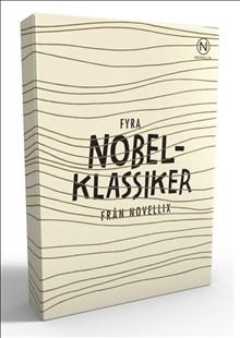 Presentask med fyra noveller av nobelpristagare