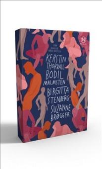 Presentask med fyra noveller av Brøgger, Malmsten, Thorvall & Stenberg