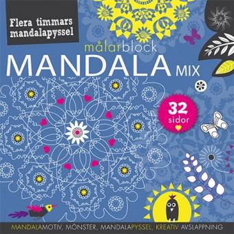 Mandalamix: målarblock