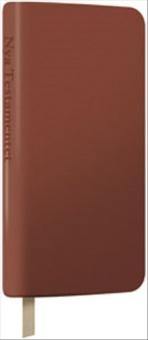 Folkbibeln, Nya testamentet, fickformat, brun