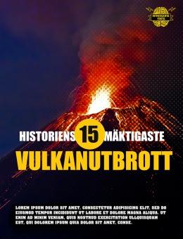 Historiens 15 mäktigaste vulkanutbrott