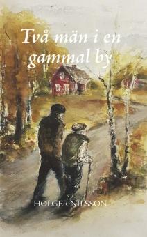 Två män i en gammal by