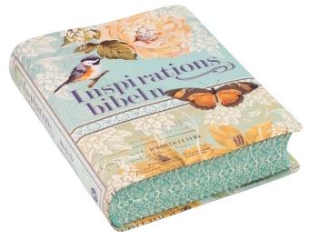 Inspirationsbibeln - bibel för färgläggning och kreativ läsning