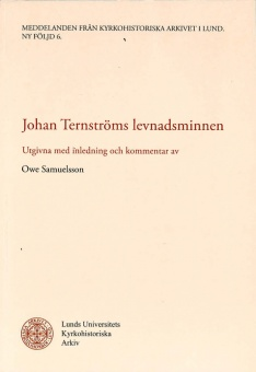 Johan Ternströms levnadsminnen