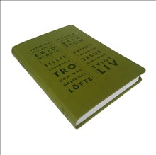 Folkbibeln, konfirmand, grön - Svenska Folkbibeln 2015, 150x220x25 mm