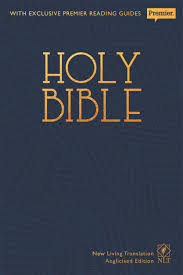 Holy Bible: New Living Translation Premier Edition NLT Anglicized Text Version