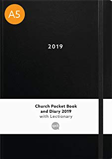 Church Pocket Book and Diary 2019 Black A5