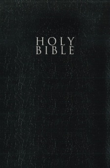 NIV - Gift and Award Bible, Leather-Look, Black, Red Letter Edition, Comfort Print