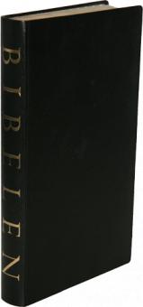 Bibel, danska, svart konstskinn