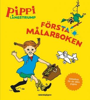 Pippi Långstrump: Första målarboken