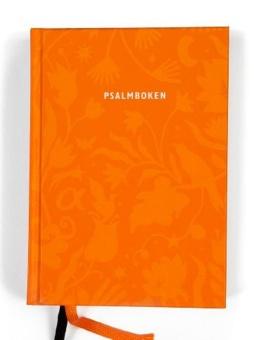 Psalmboken, konfirmand orange