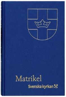 Matrikel för Svenska kyrkan 2019