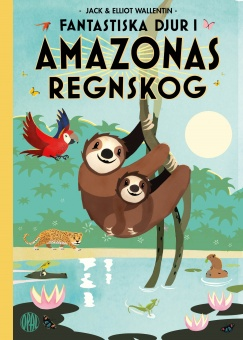 Fantastiska djur i Amazonas regnskog