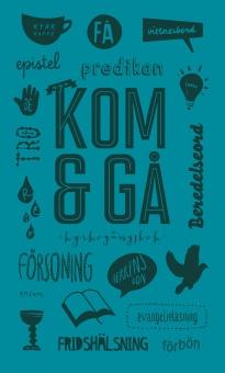 Kom + gå - kyrkogångsbok: Nytt utförande