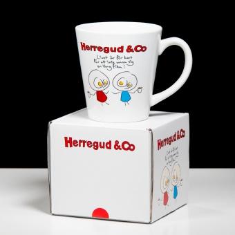 Herregud & Co Kaffemugg - Långfika