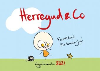 Herregud & Co Väggkalender 2021