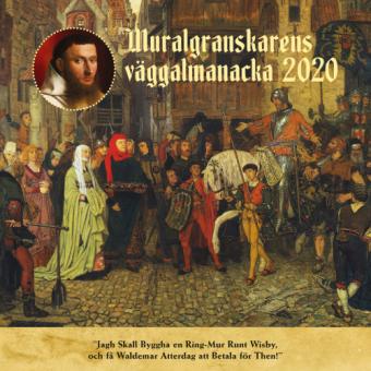 Muralgranskarens väggalmanacka 2020