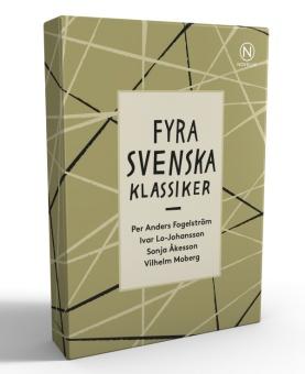 Presentask med fyra svenska klassiker III