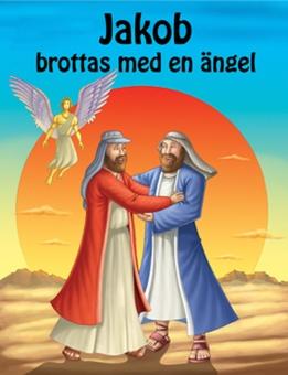 Jakob brottas med en ängel