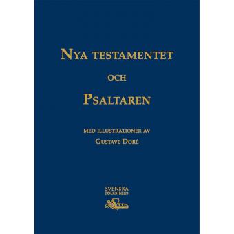 Storstilsbibeln NT & Psaltaren - guldtryck
