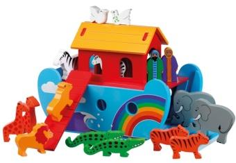 Noas Ark i trä