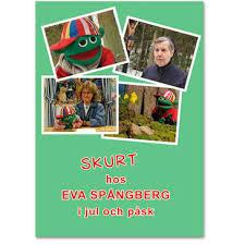 Skurt hos Eva Spångberg i jul och påsk
