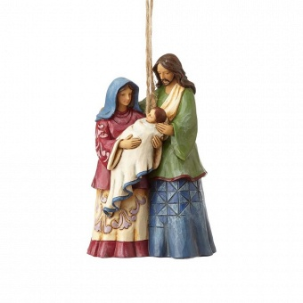 Holy Family Hanging Ornament