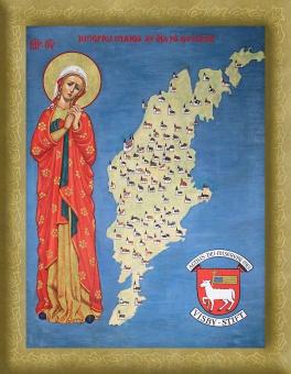 Jungfru Maria av Öja, Visby stift