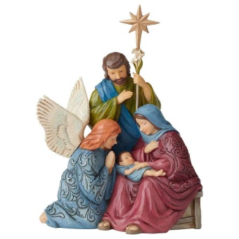 Child Of Grace (Victorian Holy Family Figurine)
