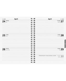 A5 Classic Refill – 18 månaders elevkalender 2019/2020