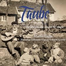 Taube - där glädjen, där sången får vingar