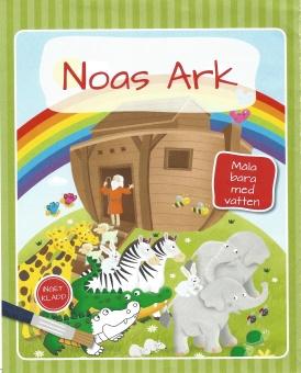 Måla med vatten - Noas ark
