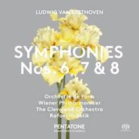 Symphonies Nos. 6, 7 + 8