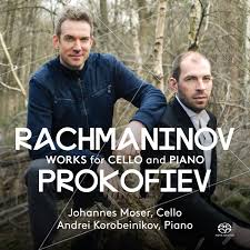 Works for Cello and Piano - Moser, Johannes (cello)