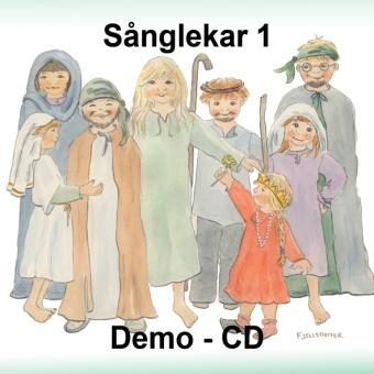 Sånglekar från Bibeln 1 - Demo CD