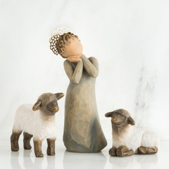 Little Shepherdess, 3 figurer