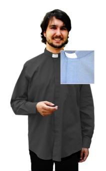 Frimärksskjorta Oxford, kort ärm