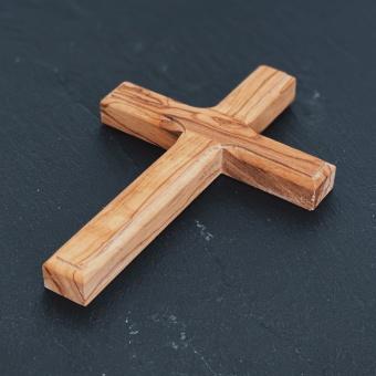 Kors, olivträ 12 cm