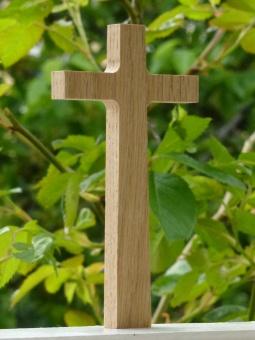 Det lilla korset, ek, 12,5 cm högt