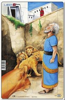 Daniel i lejongropen - Pussel