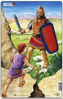 David + Goliat - Pussel