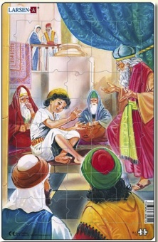 Jesus i templet - Pussel