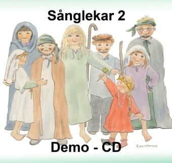Sånglekar från Bibeln 2 - Demo CD