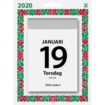 Väggplån dagblock lingon 2020